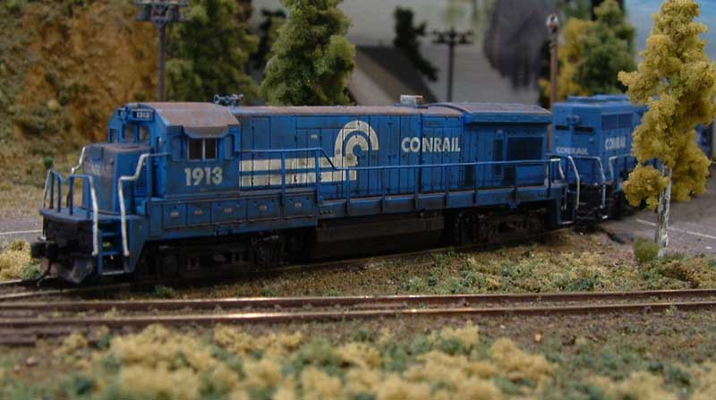 Roster shot of my Conrail B23-7 1913