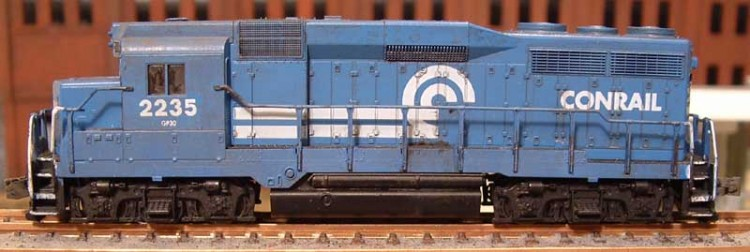 Roster shot of my Conrail GP30 2235