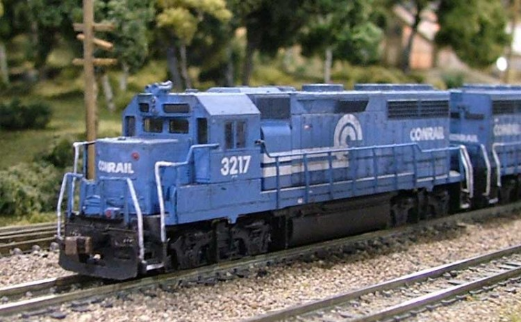 Roster shot of my Conrail GP30 3217