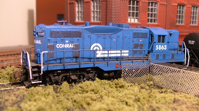 Roster shot of my Conrail GP10 5863