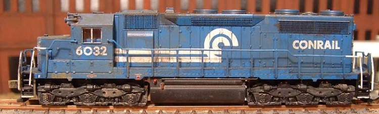 Roster shot of my Conrail SD35 6032