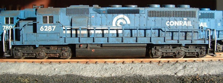 Roster shot of my Conrail SD40 6287