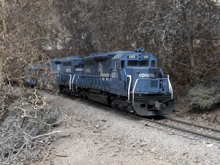Roster shot of my Conrail SD40 6303