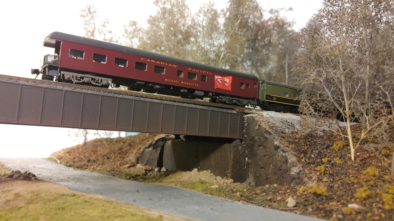 Crossing Black Bridge Road in Emigsville, north of York.
